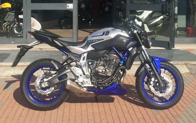 data di rilascio prezzo minimo il prezzo rimane stabile MT-07 Race Blu by Marco - Zanuso Conc. Yamaha