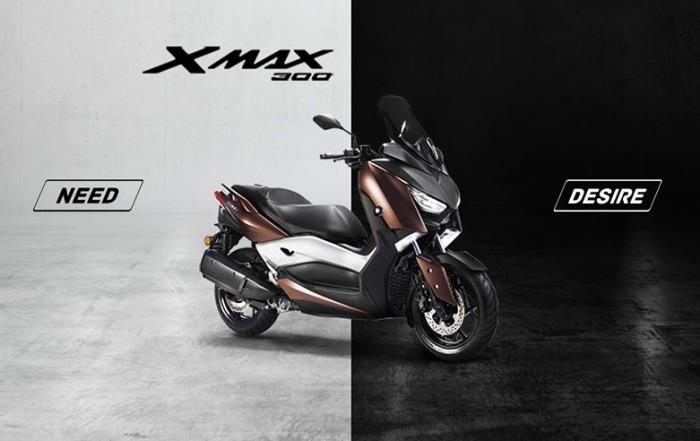 X-Max 300 Bisogno o Desiderio