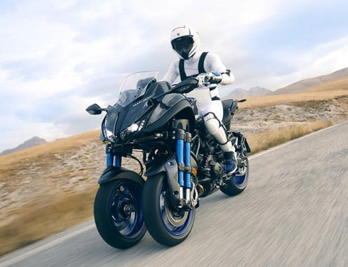 Nuovo Yamaha Niken. Ride the Revolution.