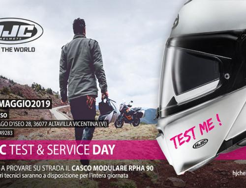 HJC Test & Service Day